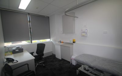 Our new consulting rooms, Suite 32 at Sunnybank Private Hospital
